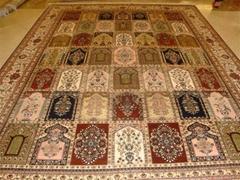 廣州   手工波斯地毯 8X10 ft 訂制掛毯 真絲地毯