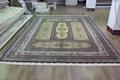 供应手工打结真丝地毯 伊朗图案 红色系列挂毯 500L (波斯图案) 2