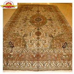 专业设计制造世界上   手工真丝地毯
