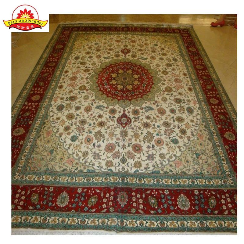 亚美厂生产手工波斯地毯,波斯图案,真丝材料 2