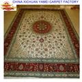 亚美厂生产手工波斯地毯,波斯图案,真丝材料 3