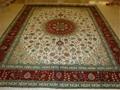 亚美厂生产手工波斯地毯,波斯图案,真丝材料 1
