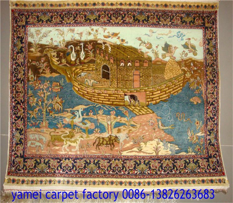 波斯富贵供应手工真艺术挂毯 波斯地毯  1