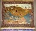 波斯挂毯,波斯富贵供应手工艺术挂毯  2