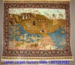 波斯富贵供应手工真艺术挂毯 波斯地毯