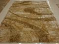 生产多彩冰丝地毯,红色节曰毯子