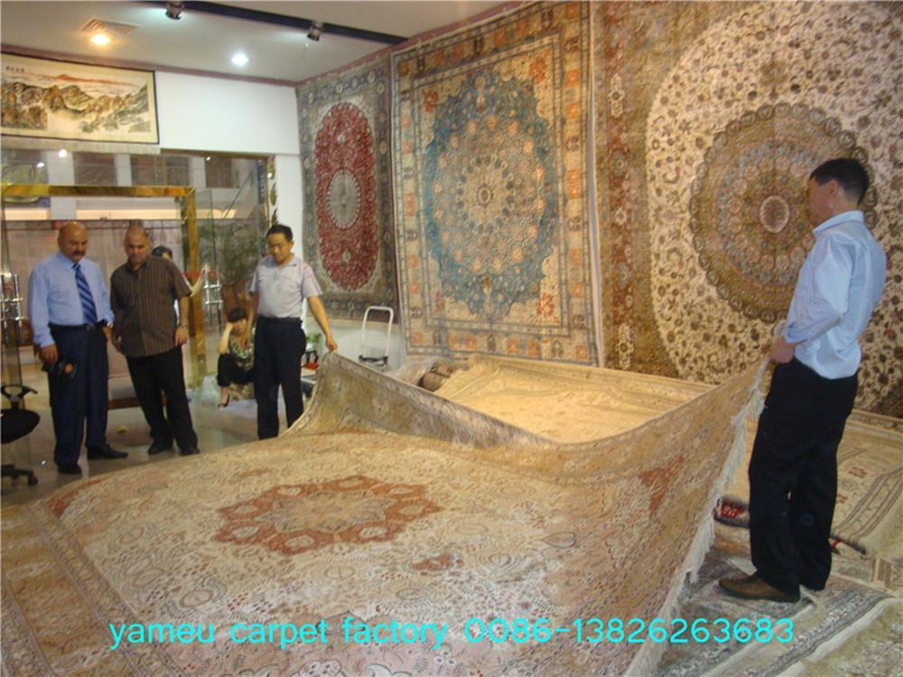 必让你身价上百亿元的16x24ft亚美手工真丝客厅地毯 3