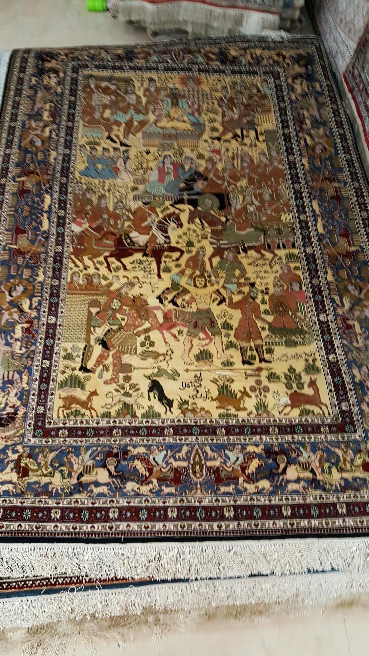 好地毯及艺术挂毯只在中国河南亚美地毯厂 1