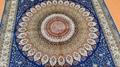 中国广州批发供应客厅波斯地毯,丝绸服装地毯 2