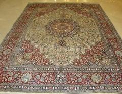 2019年亚美地毯厂热销新设计手工优质丝绒地毯及真丝挂毯