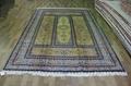 供应手工打结真丝地毯 伊朗毯子