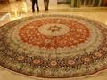 涨了!工资卡加钱,我要买张亚美地毯(波斯园型地毯) 2