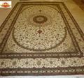 優質手工絲毯是亞美生產1382