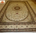 Handmade silk carpets in YAMEI