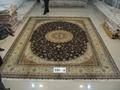 天然蚕丝,热销出口,手工波斯地毯 2