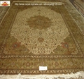 Supply 600L silk carpet hand knotted Persian foreign trade carpet 1
