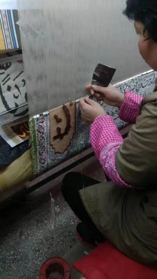 供應   藝朮挂毯 手工真絲波斯地毯8X10 ft德國圖案 3