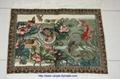Wholesale art wood tapestry silk