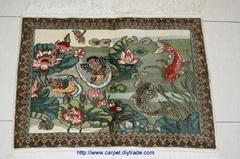 批发艺木挂毯 真丝挂毯在广州13826288657