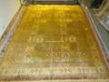 同奔驰一样品质的手工真丝古代地毯 6x9 ft 蚕丝古老波斯地毯 1