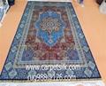 淅川亚美地毯厂刚收130届广交会发来的邀请函,请隽手工地毯参展 1