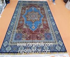 淅川亞美地毯廠剛收126屆廣交會發來的邀請函,請雋帶手工地毯參展