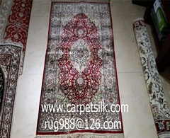 亚美地毯厂刚收126届广交会发来的邀请函,请隽带手工地毯参展