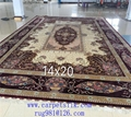 Top Handmade silk Carpet