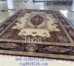 Top Handmade silk Carpet Manufacturer-Xichuan Yamei Carpet Factory