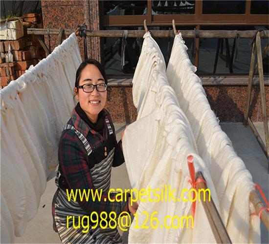 的手工地毯製造者-淅川亞美地毯廠 4