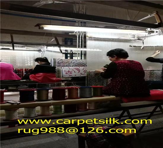 Top Handmade silk Carpet Manufacturer-Xichuan Yamei Carpet Factory 5