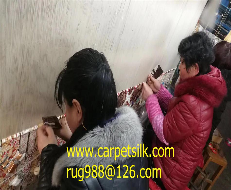 The esteemed Aramco carpet factory-silk carpet 4