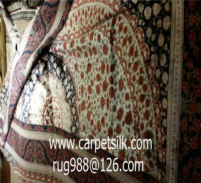 可以旺妻的手工地毯,亞美地毯廠專業生產波斯圖案池毯 2