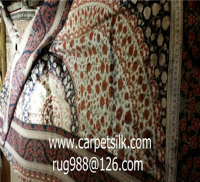 可以旺妻的手工地毯,专业生产波斯图案池毯-亚美地毯厂 4