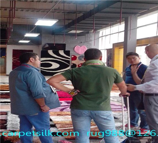 可以旺妻的手工地毯,专业生产波斯图案池毯-亚美地毯厂 5