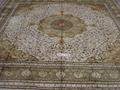 """亚美""""世界名毯""""- 炫富手工波斯真丝地毯 18x18 ft 1"""