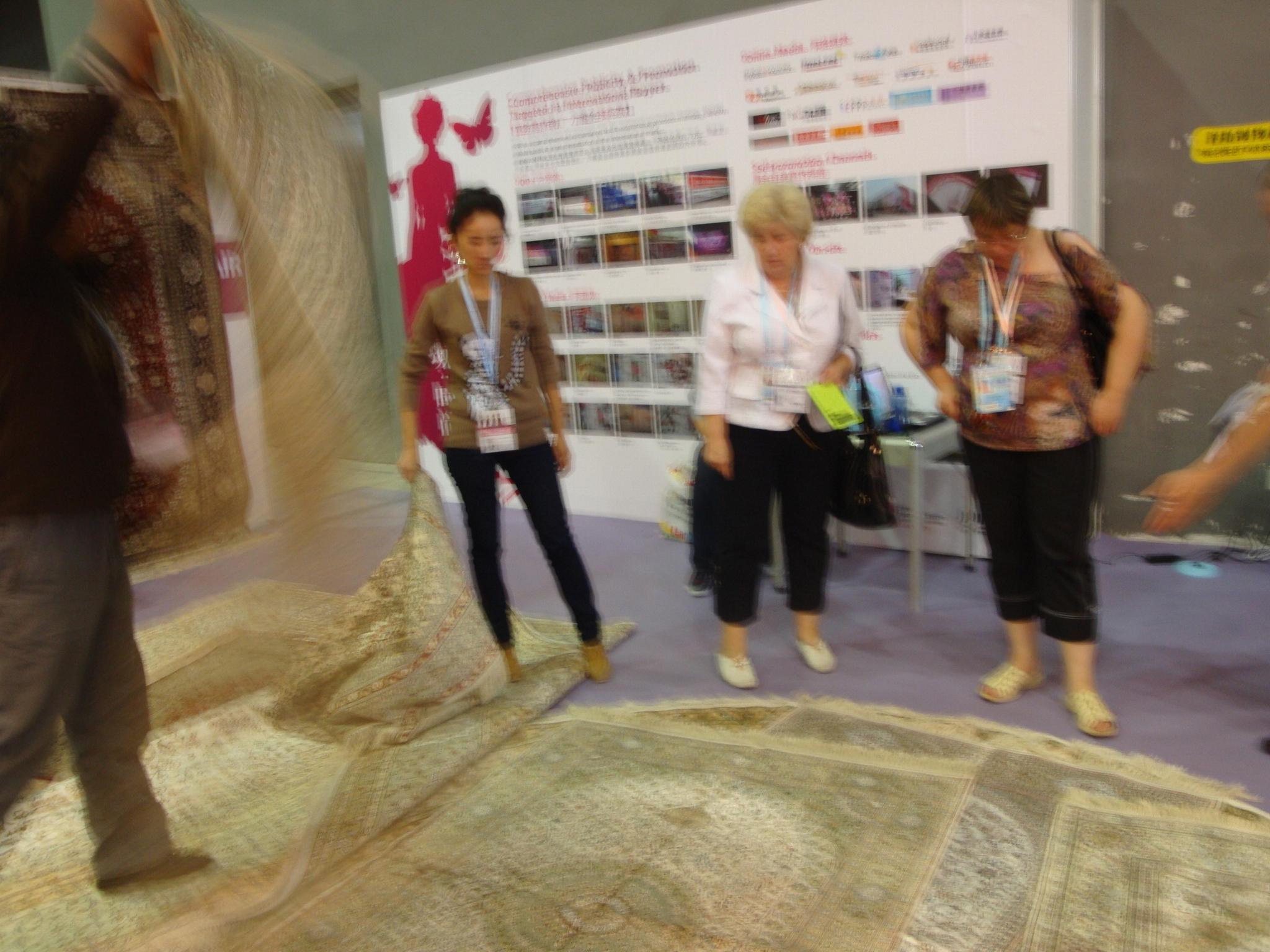 各種圖案的手工地毯批發 2