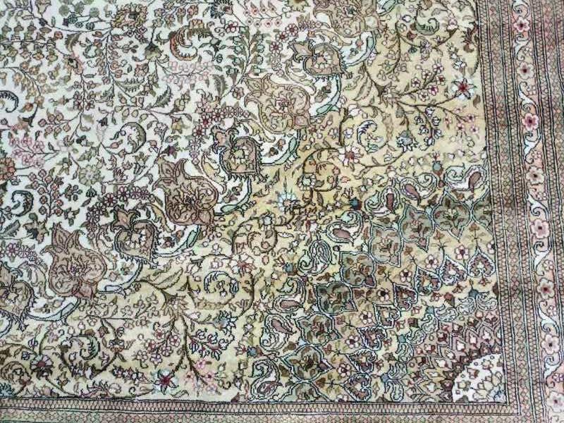 中美合做,友好大厅 12x18ft手工真丝地毯 4