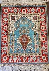 新时代设计,2x3兰色艺术挂毯 (热门产品 - 1*)