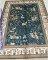 4'x6'經典波斯設計手工絲綢挂毯亞美傳奇批發 1