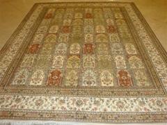 订制挂毯 真丝地毯 广州   手工波斯地毯 8X10 ft