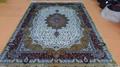 yamei handmade silk carpet striving in