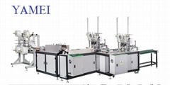 Yamei one-drag -two Face Mask Machine