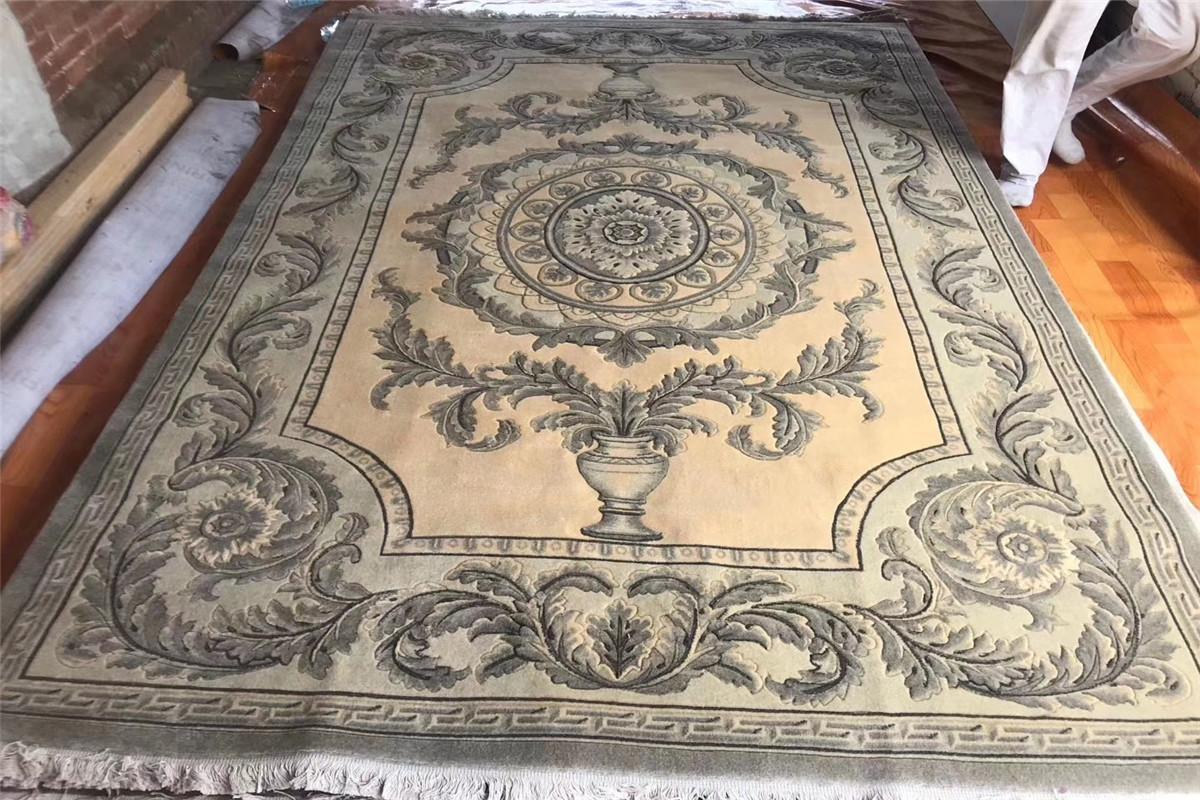 獲獎手工羊毛地毯200x300cm,亞美地毯廠生產和批發 1
