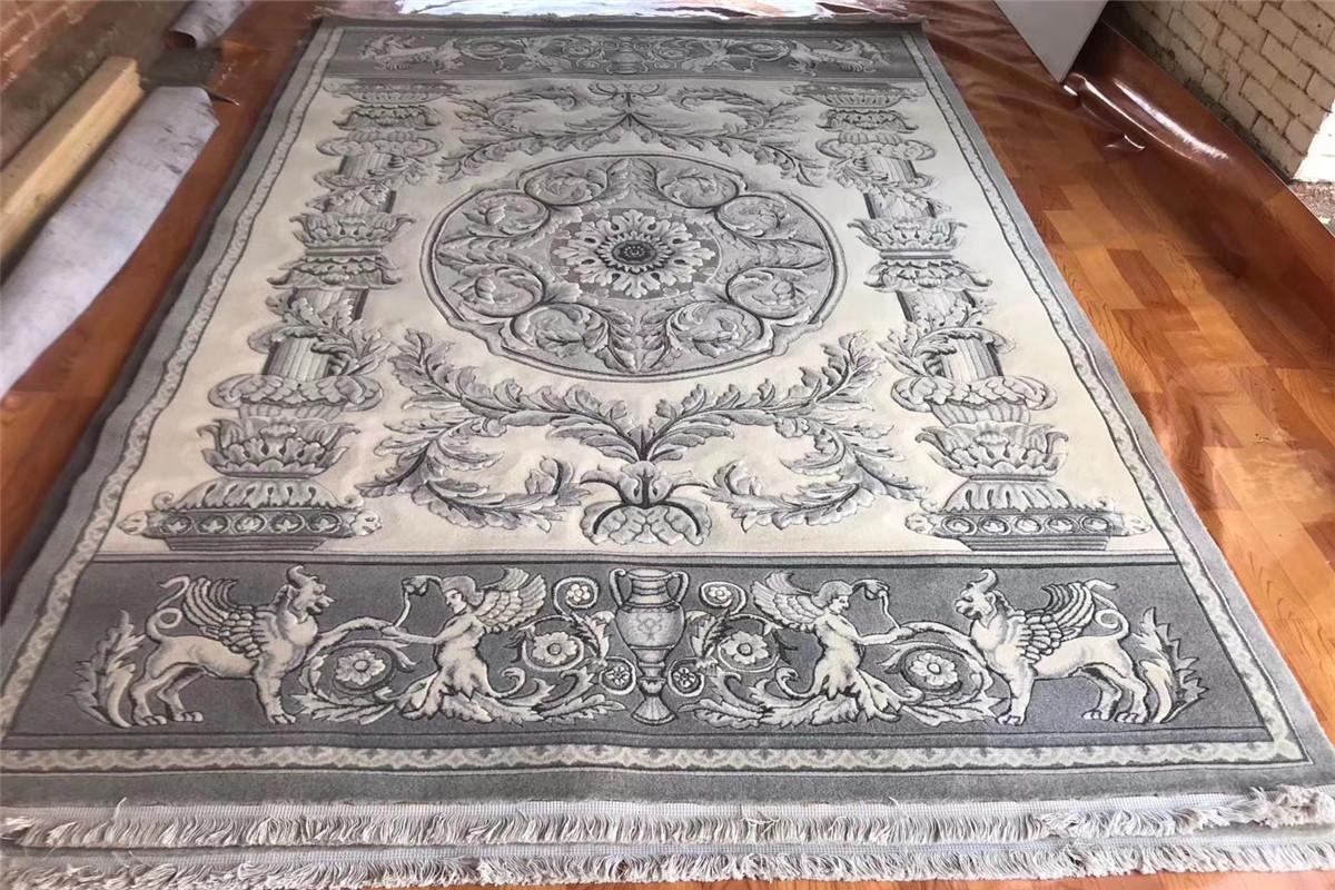 獲獎手工羊毛地毯200x300cm,亞美地毯廠生產和批發 2