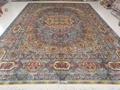 中国好的手工真丝地毯生产厂家是