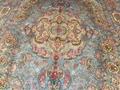 淅川县亚美地毯厂是中国好的手工真丝地毯生产厂家 2