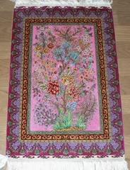 优惠古典艺术画卷的真丝挂毯