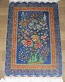 优惠古典艺术画卷的真丝挂毯 3