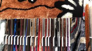 广州广园西路88号批发冰丝加羊毛地毯,5G彩色 2